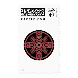 Medallón de Chainmail Sellos Postales