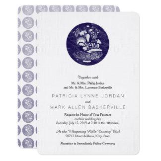 """Medallón de la prensa de copiar de la natividad invitación 5"""" x 7"""""""