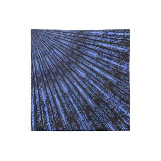 Medallón de los azules añiles servilleta de papel