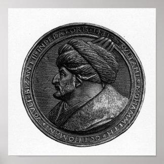 Medallón de Mehmed II Poster