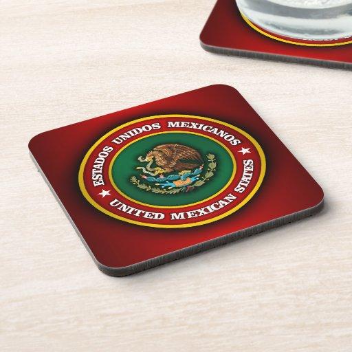 Medallón de México Posavasos De Bebidas