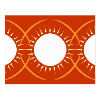 Medallón de Sun Tarjetas Postales