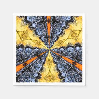 Medallón de Swallowtail Servilleta De Papel