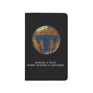 Medallón de Tomorrowland Cuaderno
