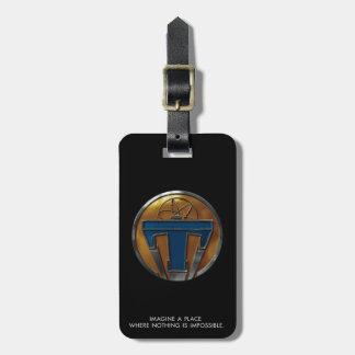 Medallón de Tomorrowland Etiqueta Para Equipaje
