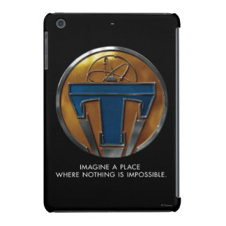 Medallón de Tomorrowland Fundas De iPad Mini Retina
