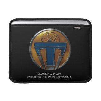 Medallón de Tomorrowland Funda MacBook