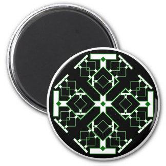 Medallón del circuito imán redondo 5 cm