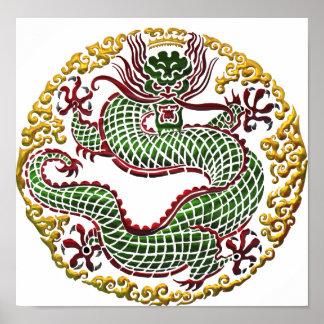 Medallón del dragón poster