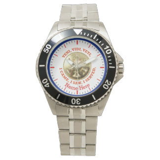 Medallón del jefe del batallón del cuerpo de relojes de pulsera