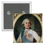 Medallón del retrato de Louis XVI 1775 Pins