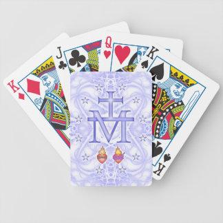 Medallón milagroso baraja de cartas