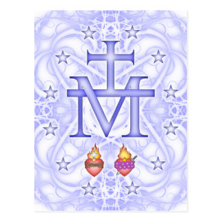 Medallón milagroso tarjetas postales