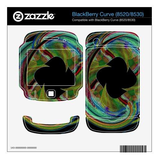 Medallón místico calcomanía para BlackBerry
