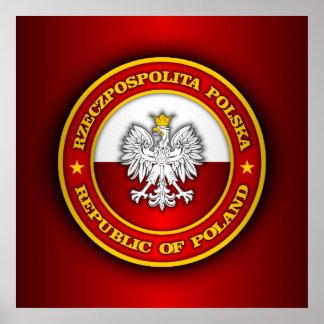 Medallón polaco póster