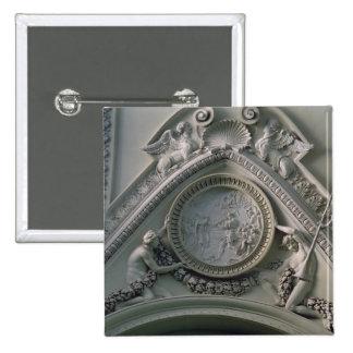 Medallón que representa el emperador Constantina Pins