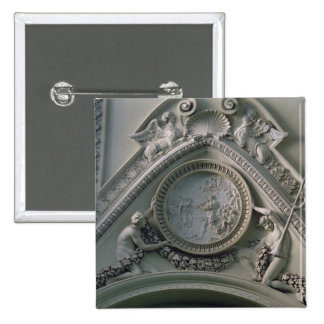 Medallón que representa el emperador Constantina Pin Cuadrado