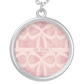Medallón rosado de la cinta