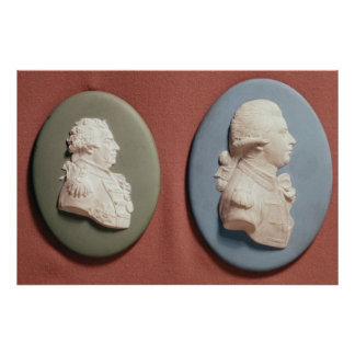 medallones de George IV Poster