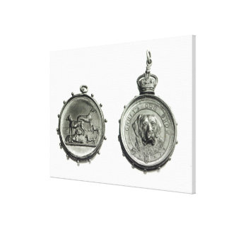 Medals from Cruft's Dog Show, c.1910 Canvas Print
