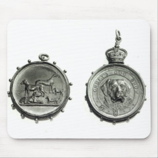Medals from Cruft's Dog Show, c.1910 Mouse Pad