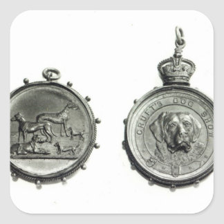 Medals from Cruft's Dog Show, c.1910 Sticker