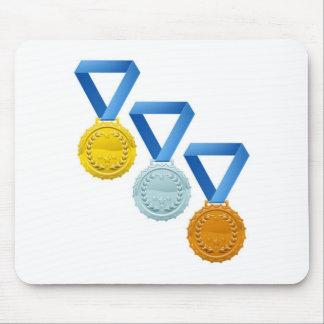 Medals Mouse Mat