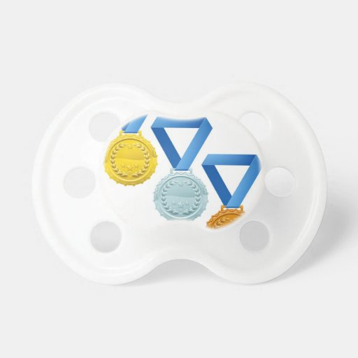 Medals Baby Pacifier