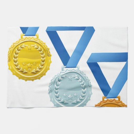 Medals Towel