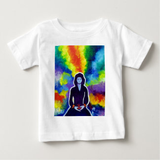 Medatating Woman by Piliero T-shirts