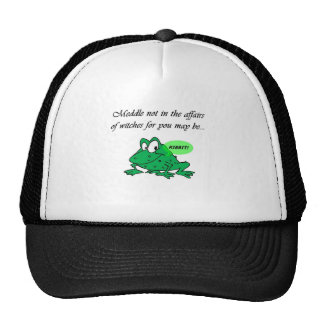Meddle not in the affairs of witches trucker hats