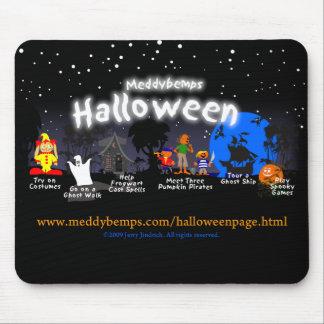 Meddybemps Halloween Mousepad