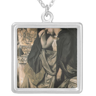 Medea, 1873 silver plated necklace