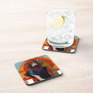 Medea detail beverage coaster