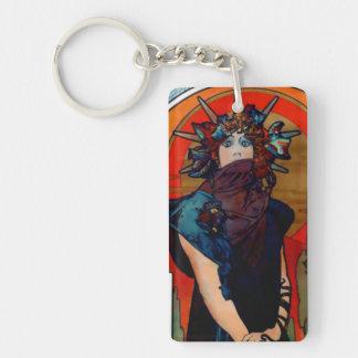 Medea detail acrylic keychains