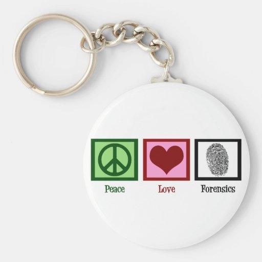 Medecina legal del amor de la paz llavero redondo tipo pin