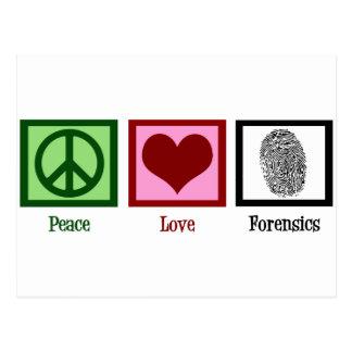 Medecina legal del amor de la paz postal