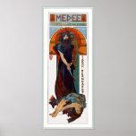 Medee (Medea) - Mucha - Art Nouveau Theater ad Print