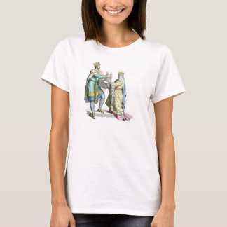 Medeival French king and queen T-Shirt