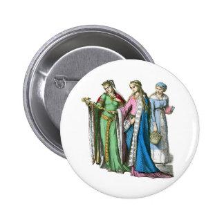 Medeival noble women - Period Costumes Pin