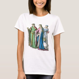 Medeival noble women - Period Costumes T-Shirt