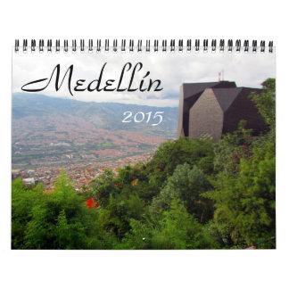 medellín 2015 wall calendar