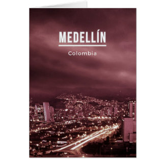 Medellin Colombia Card
