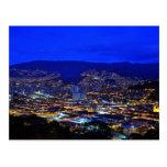 Medellin, Colombia en la noche Postal