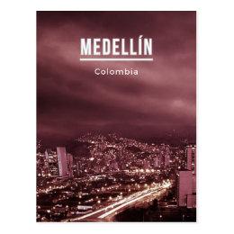 Medellin Colombia Postcard