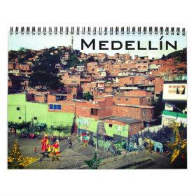 medellín photography calendar