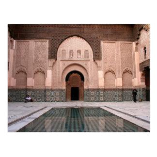 Medersa ben Youssef Postcard