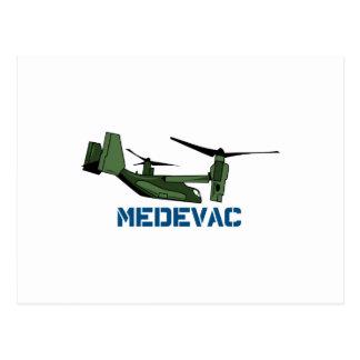 Medevac Opsrey Postcard