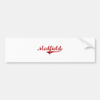 Medfield Massachusetts Classic Design Bumper Stickers