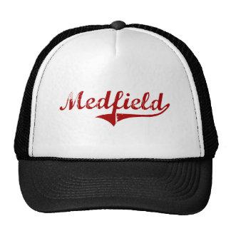 Medfield Massachusetts Classic Design Trucker Hats